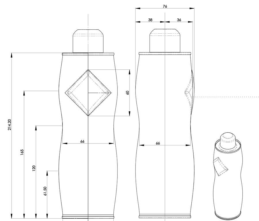 Karvan Cevitam lemonade bottle design by WAACS