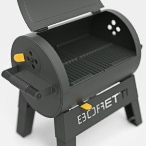Portable Barrel grill