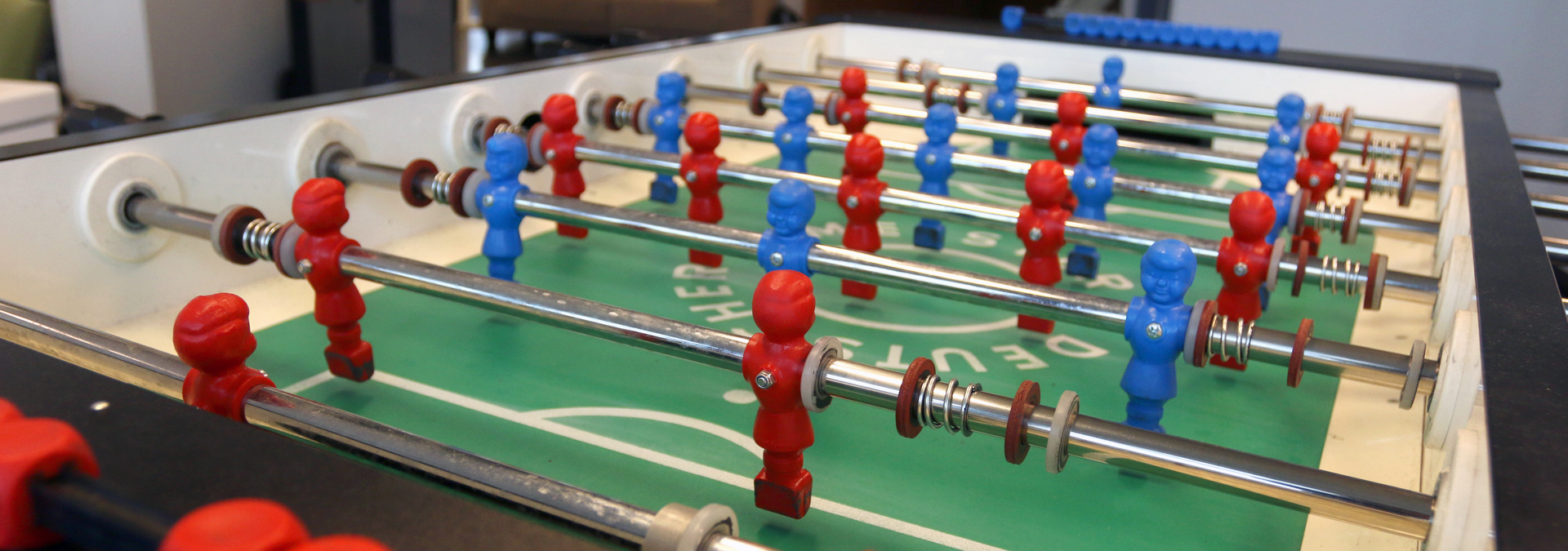 Career at WAACS involves table soccer