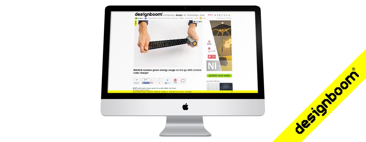 WAACS featured on Designboom