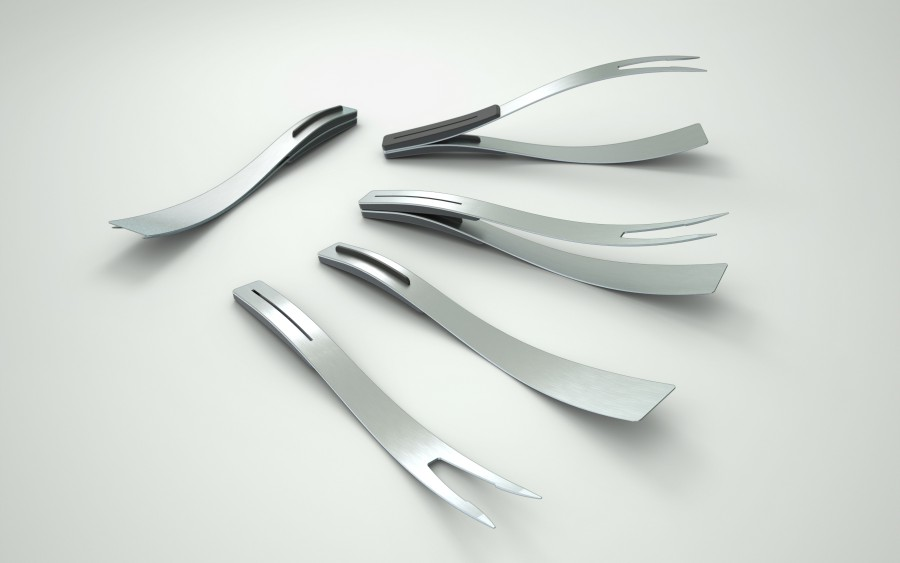 STAINLESS STEEL MAGNETIC BARBECUE TOOLS