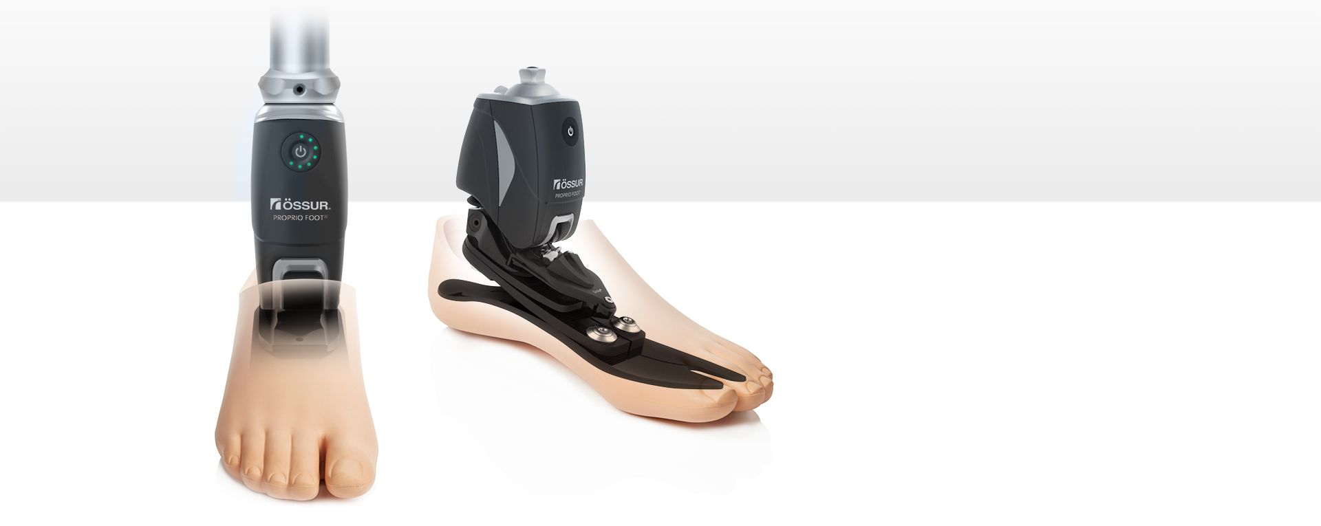WAACS Össur Bionic Ankle Proprio Foot overview