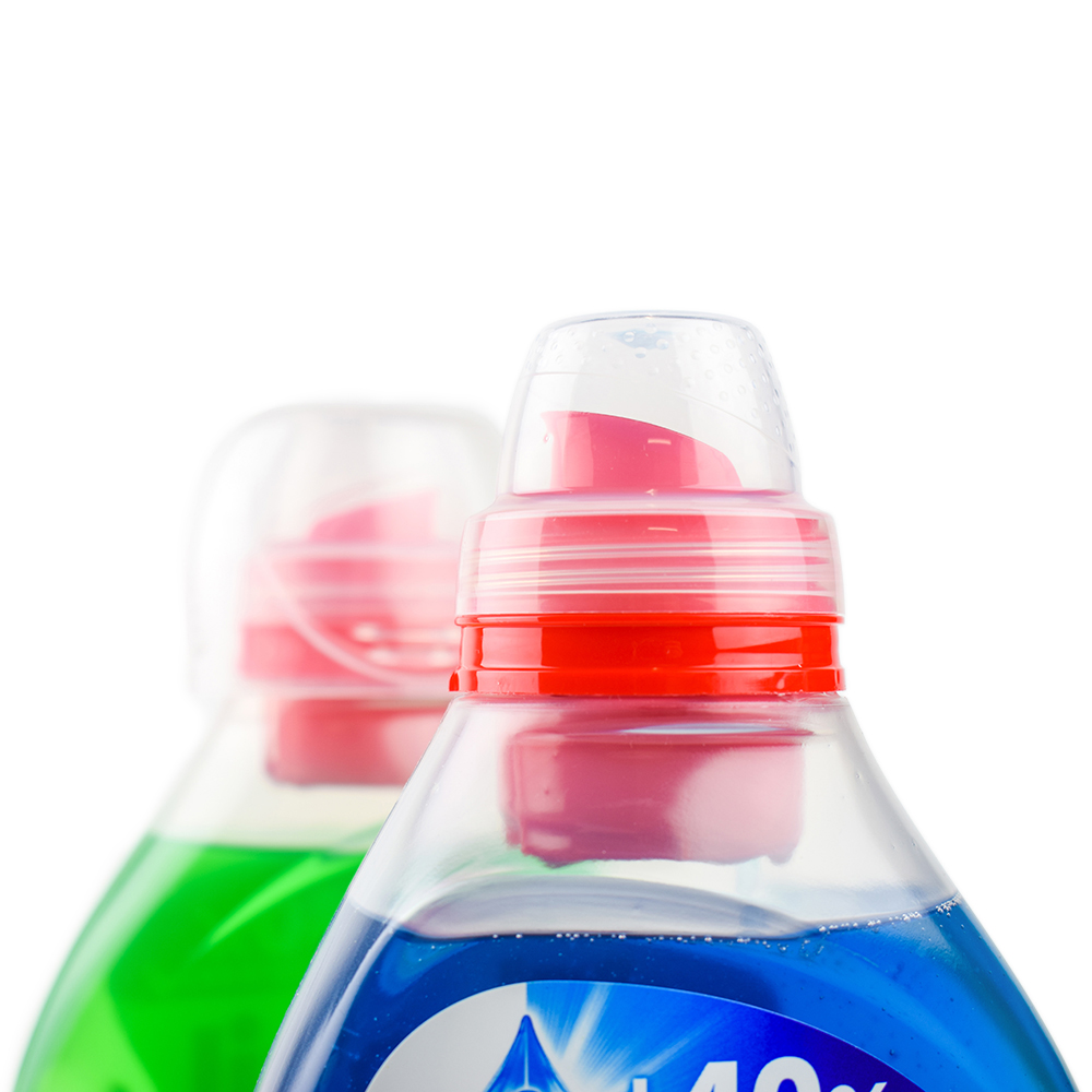 Persil bottle spout detail - Designed by WAACS