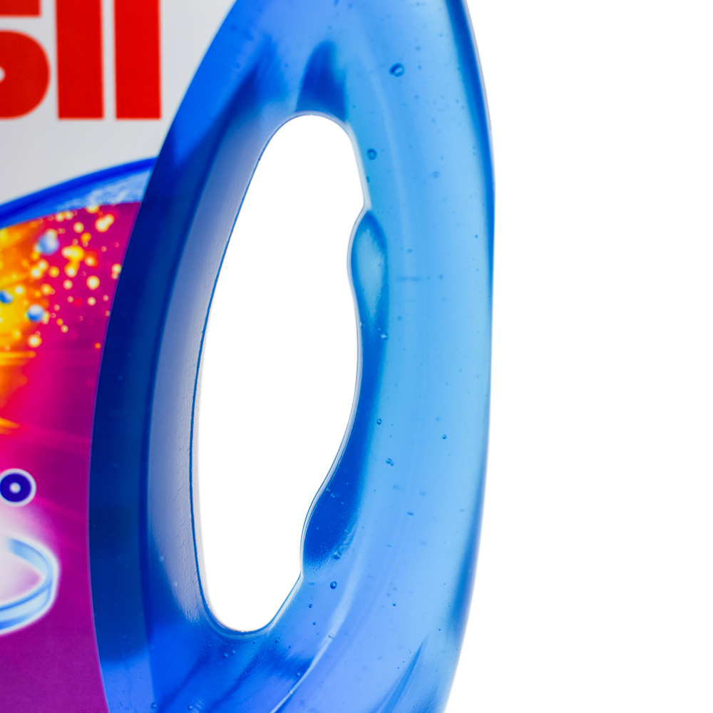 Persil bottle handle detail - Designed by WAACS
